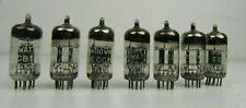 7  x Philips Miniwatt ECC81 12AT7 Valvo Tested Tubes