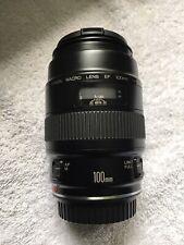 Canon Macro Lens EF 100 mm 1:2.8 Auto & Manual Focus