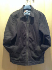 Quiksilver en coton marron veste zippée-Garçon Taille 16-18