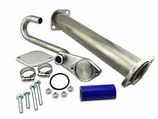 2003-2010 EGR Bypass Block Off Delete kit W/ Turbo Up Pipe Ford Powerstroke 6.0L
