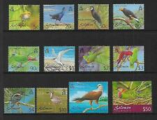 2001 Birds set of 12 Complete MUH/MNH as issued