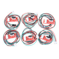 6sets Endstop Limits Mechanicals End Stop Switch Cables For CNC 3D Printer Ramps