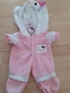 HELLO KITTY BOUTIQUE DOLL CLOTHING - PINK ONESIE OUTFIT - NOT GERBER