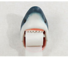 Wall Mounted Holding Shark Holder Bathroom Resin Hanger Toilet Roll Paper Holder