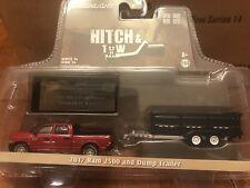 Greenlight  HITCH & TOW  2017 Dodge Ram 2500 w/  Dump  Trailer