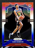 Cam Reddish 2019-20 Panini Prizm Red White Blue Rookie RC Atlanta Hawks #256