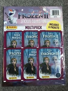 **FROZEN II DISNEY PANINI 6 PACKET MULTIPACK - SEALED NEW CONDITION**