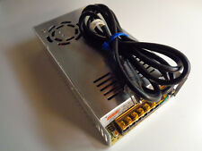Universal 12V 30A Switching Power Supply with Power Cord Excellent Condition