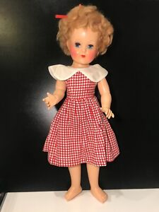 "vintage pedigree ""Elizabeth"" 18 inches doll in original box, many extras"
