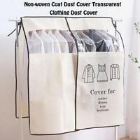 Coat Garment Protector Suit Dust Cover Dustproof Storage Dress Non-woven Clothes