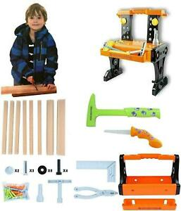 Kids 60 Construction Set Toy Children Role Play Tool pretend play Accessories