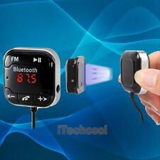 Car Kit Handsfree Bluetooth 4.0 FM Transmitter MP3 Player USB SD AUX LCD Remote