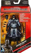 "DC MULTIVERSE Underwater BATMAN 6"" FIGURE SUICIDE SQUAD Mattel (Killer Croc BAF)"