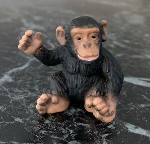 Schleich Chimpanzee Baby Figure 14192 - RETIRED African Wildlife Animal