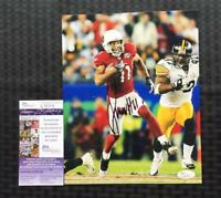 Larry Fitzgerald Signed Arizona Cardinals Photo