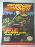 Nintendo Power Vol 33 Teenage Mutant Ninja Turtles February 1992