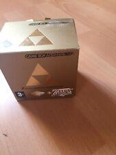 Nintendo Game Boy Advance Gold Handheld-Spielkonsole