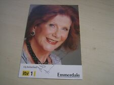 Anne Charleston (Lily Butterfield in Emmerdale) Hand Signed RARE *FREE POST*