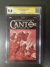 Canto II The Hollow Men 1 1:10 ERROR Variant CGC 9.8 SS 3805550024