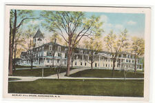 Shirley Hill House Manchester New Hampshire 1920c postcard