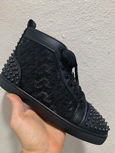 Men's Christian  Black   Shoes Size  45EuR/11USA
