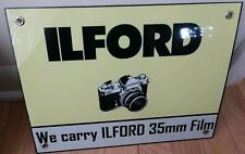 Ilford 35mm Camera Film Photography Sign
