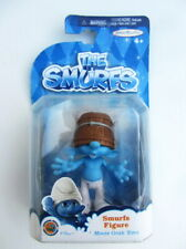 SMURF ACTION FIGURE Movie Grab 'Ems CLUMSY - 7cm Tall - Jakks Pacific (2013)