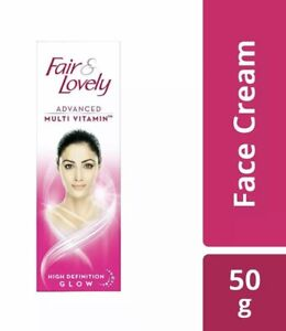 2x UK 50g FAIR & LOVELY Advanced Multi Vitamin Expert Fairness Cream Face Neck