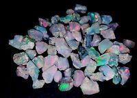 Natural Ethopian Opal Jumbo Fire Untreated Rough Lot In Loose Gemstones Wholesal