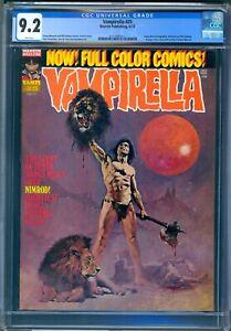 Warren VAMPIRELLA #25 - CGC 9.2 NM- WP - ENRICH COVER