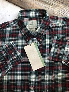 Beretta Men's Outdoor Casual Long Sleeve Flannel Button Down Shirt XXL NWT