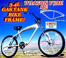 NEW 2018 PERFORMANCE TANK FRAME FOR 66cc/80cc 2-STROKE MOTORIZED BIKE KIT