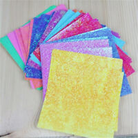 50 Sheets Square Origami Paper Crane Folding Colorful DIY Craft Best Wish Supply
