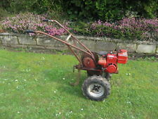 early type wolseley merry tiller rotovator with drive wheels