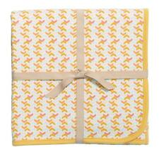 "Cotton Baby Receiving Blanket ""Dear One"" 40"" x 30"" by Baby Dumpling Brand New"