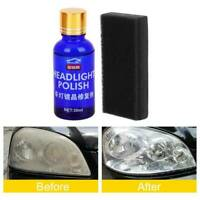 30ML 9H Hardness Auto Car Headlight Len Restorer Repair Liquid Polish Cleaning