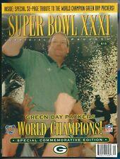 Green Bay Packers Super Bowl XXXI Commemorative Program Mike Holmgren 1997