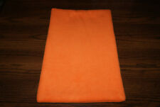 New Blaze Orange Halloween Fleece Dog Cat Pet Carrier Blanket Pad Free S/H! Bcr