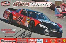2018 Chase Dixon signed Chase Dixon Motorsports Chevy SS NASCAR Whelen postcard