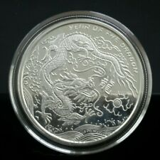 2012 Year of the Dragon  Provident metal 1oz. 999Ag Proof quality silver...