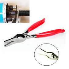 Car Fuel Vacuum Line Tube Hose Remover Separator Pliers Pipe Tool Red New Angled