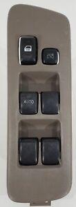 01 - 07 Toyota Highlander Driver Side Master Window/Lock Switch - Gray