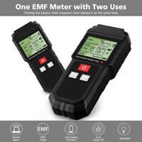 Mini Digital LCD EMF Gauss Meter Electromagnetic Radiation Detector Tester Test