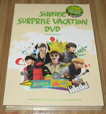 SHINee Surprise Vacation 6 DISC DVD + POUCH SET + PHOTOCARD SET SEALED