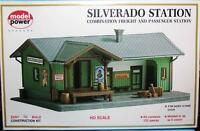 HO Gauge Model Power 605 Model Railroad Building Kits  Silverado Station 125 Pcs