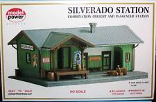 HO Gauge-Model Power-605-Model Railroad Building Kits-Silverado Station-125 Pcs