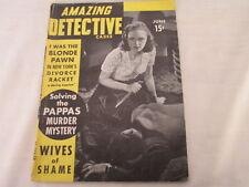 """""""Amazing Detective"""" June 1941"""
