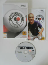 TABLE TENNIS - NINTENDO WII - COMPLET
