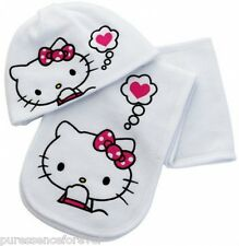 AVON HELLO KITTY SCARF AND HAT SET (New/Sld)