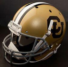 COLORADO BUFFALOES 1969-1976 Schutt AiR XP Authentic GAMEDAY Football Helmet